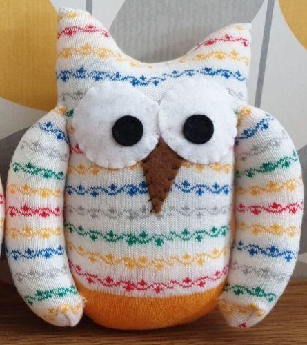 Yellow  Sock Owl