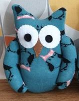 Sock Owl which has a Owl design to sock