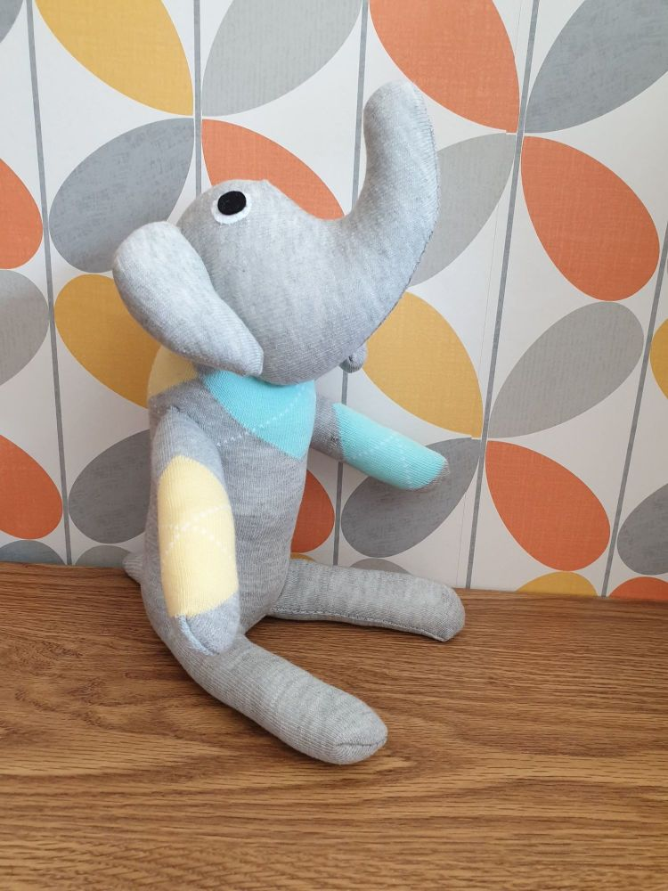 Grey Sock Elephant