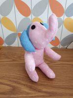 Small Pink Spotty Sock Elephant