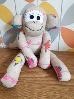 Birds Design Sock Monkey