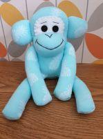 Light Blue Sock Monkey