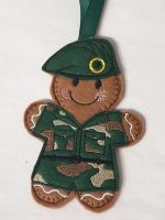 Army Gingerbread