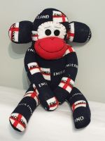 ENGLAND SOCK MONKEY