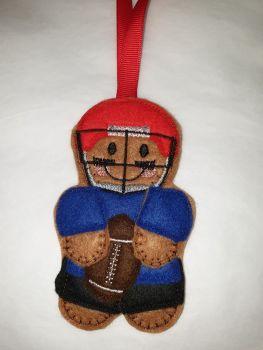 American Footballer Gingerbread