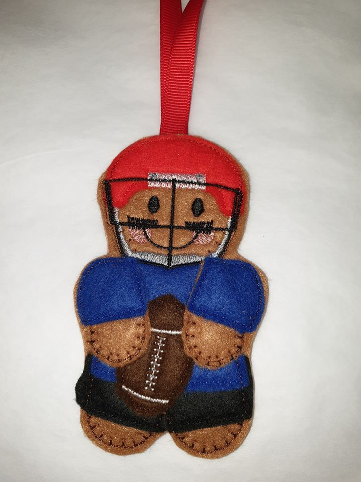American Footballer Gingerbread