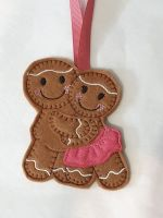 Couple in Love Gingerbread