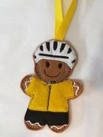 Cyclist Gingerbread