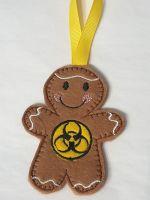 Bio Hazard Gingerbread