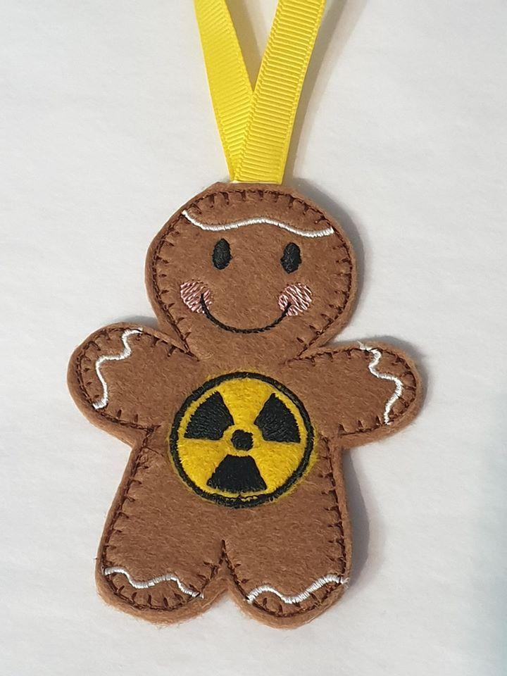 Radioactive Hazard Gingerbread