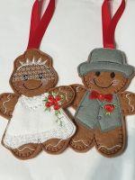 Wedding Couple Bride, Groom Gingerbread