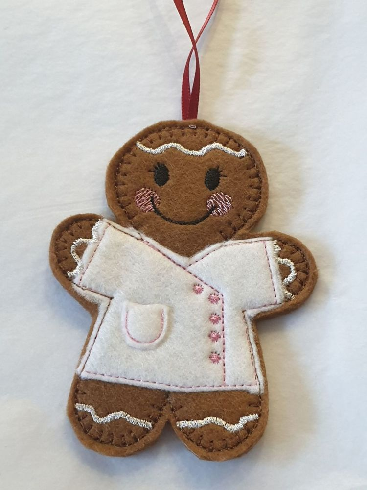 Beautician Gingerbread