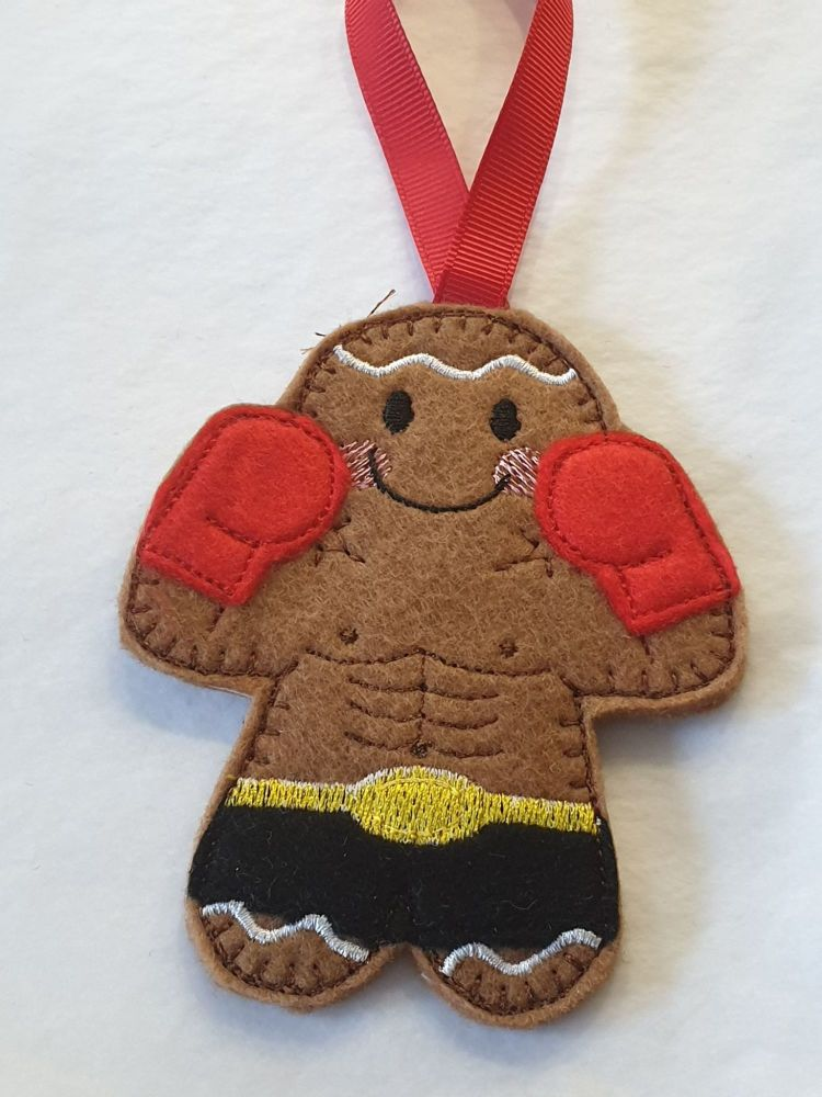 Boxer Gingerbread