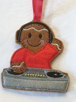 DJ Music Gingerbread