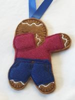 Dabbing Gingerbread