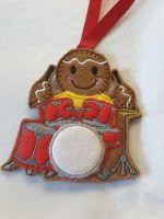 Drummer  Gingerbread