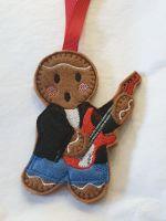 Electric Guitar Gingerbread