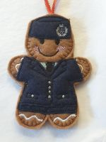 RAF Girl Gingerbread