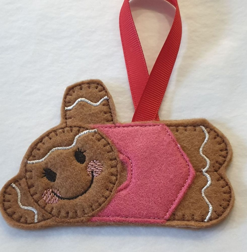 Swim Swimming Girl Gingerbread