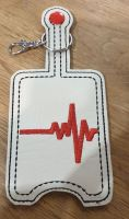 Hand Sanitiser Holder Heartbeat Design
