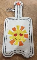 Hand Sanitiser Holder Sunshine Design