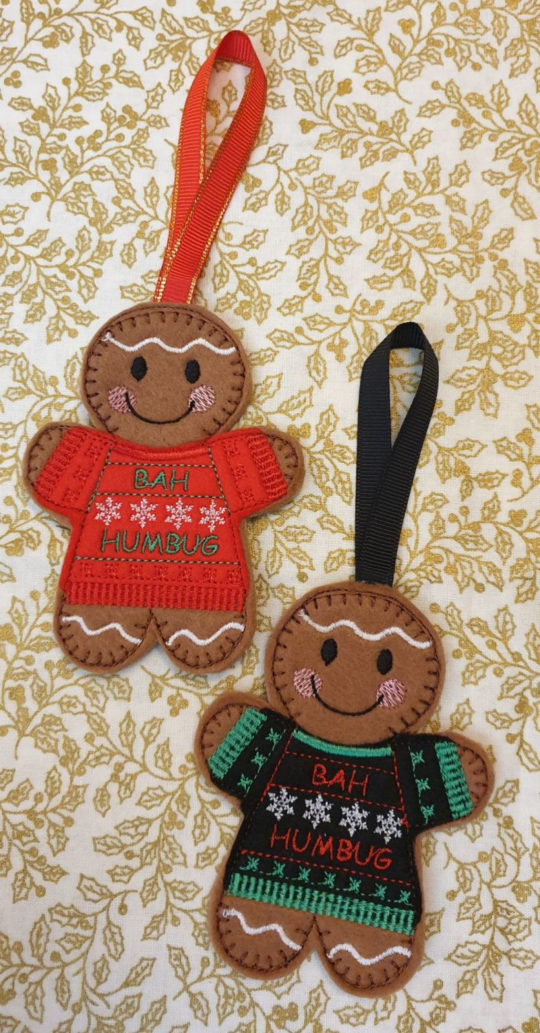 Christmas Ugly Jumpers Gingerbread