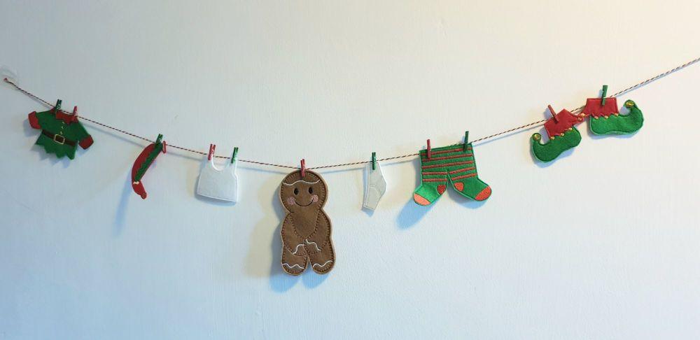 Elf Washing Line