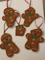 Set of 5 Gingerbread Ginger Bites