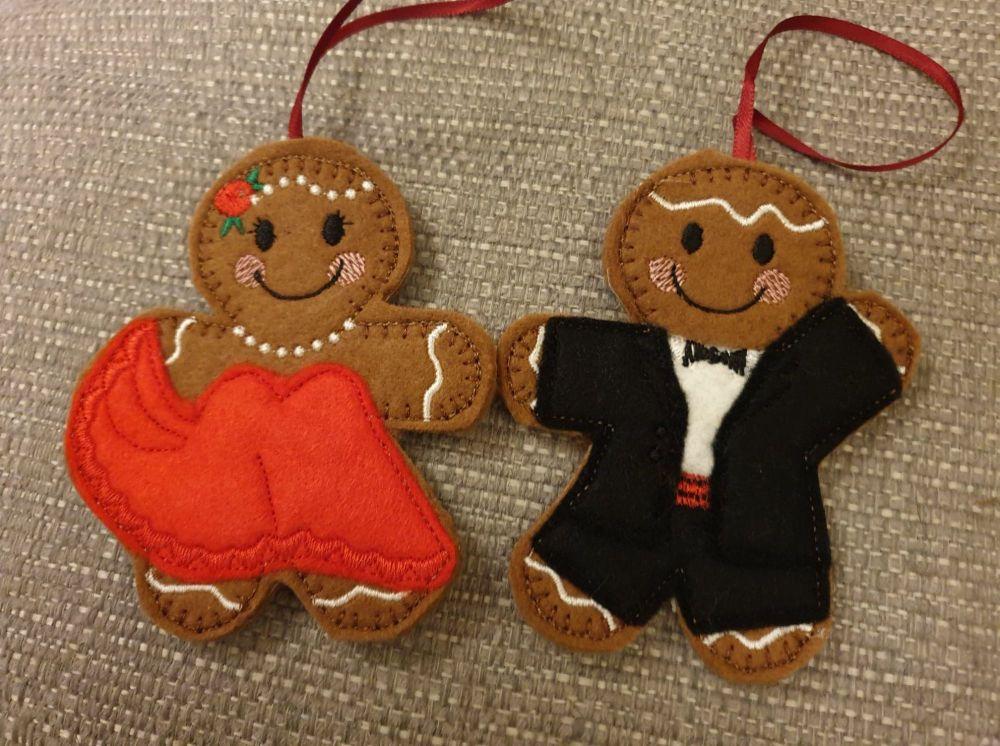 Baby Girl Gingerbread