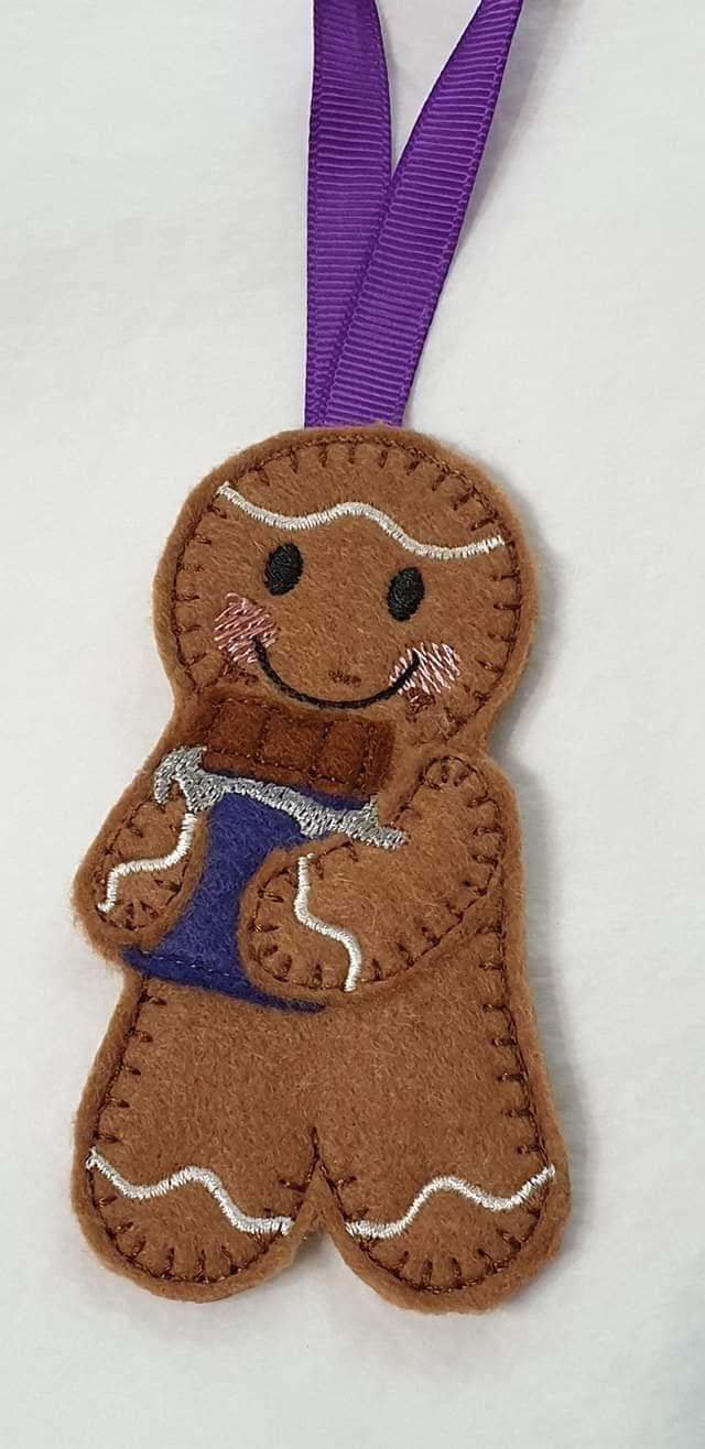 Chocoholic Chocolate Bar Gingerbread
