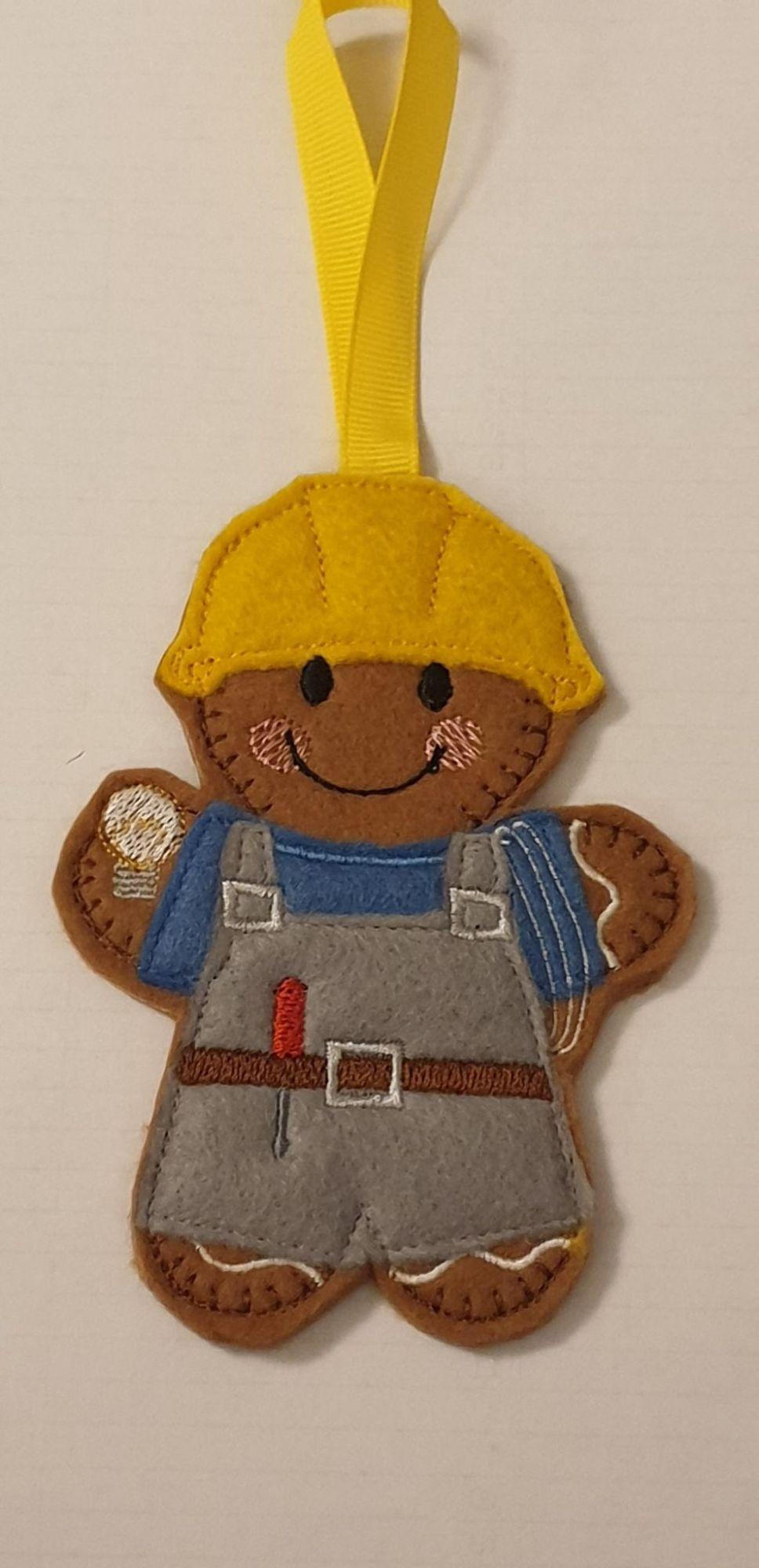 Electrician Gingerbread