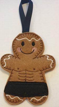Bodybuilder Gingerbread