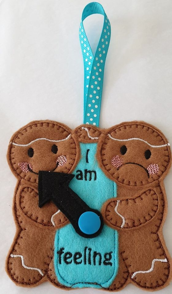 I Am Feeling  Gingerbread Hanger