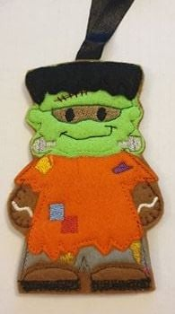 Halloween Frankenstein Gingerbread