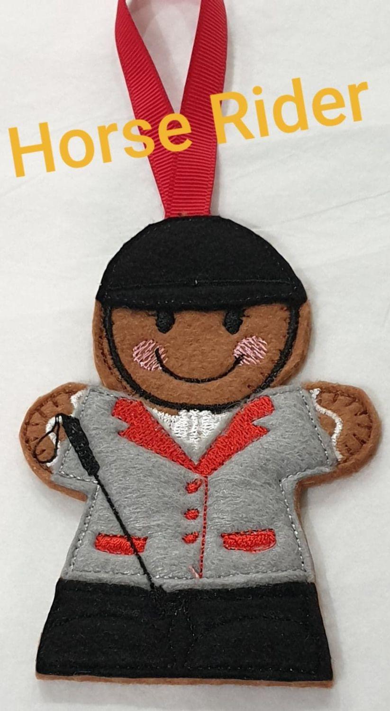 Horse Rider Gingerbread