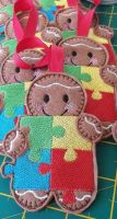 Jigsaw Puzzle Gingerbread