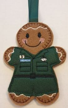 Paramedic Gingerbread