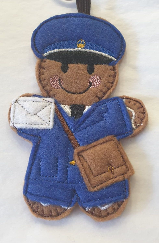 Postman Gingerbread