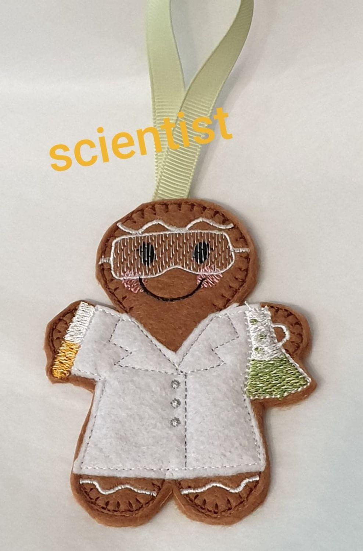 Scientist  Gingerbread