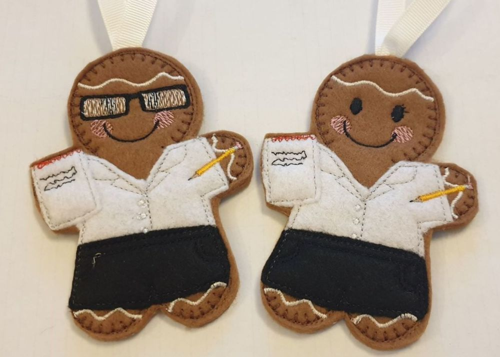 Secretary  Gingerbread