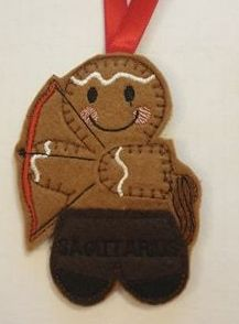 Zodiac SAGITTARIUS Gingerbread