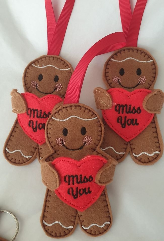 HUGS Miss you Gingerbread