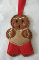 Choir Singer Gingerbread