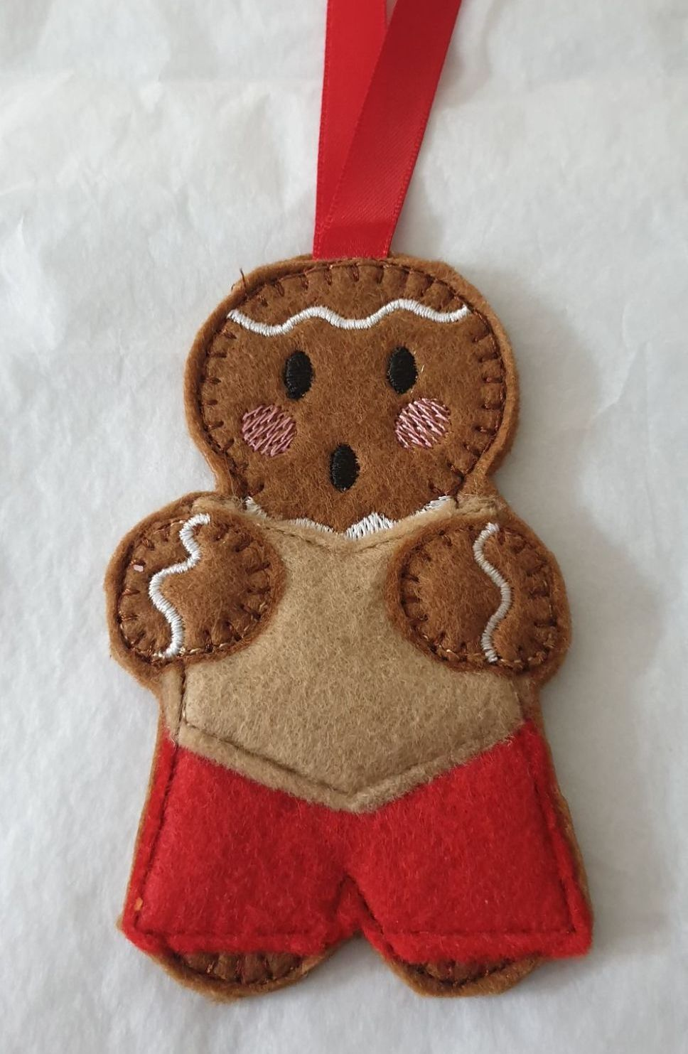 Choir Singer Gingerbread