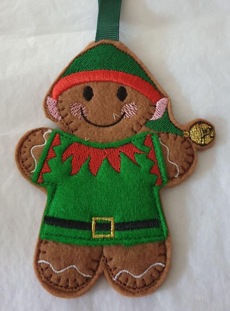 Christmas Elf Gingerbread