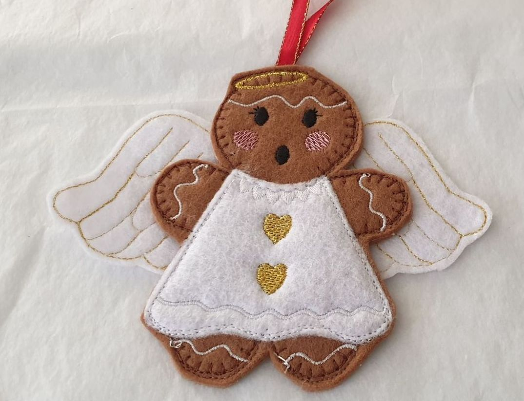 Christmas Angel Gingerbread