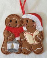 Christmas Carol Singers Gingerbread