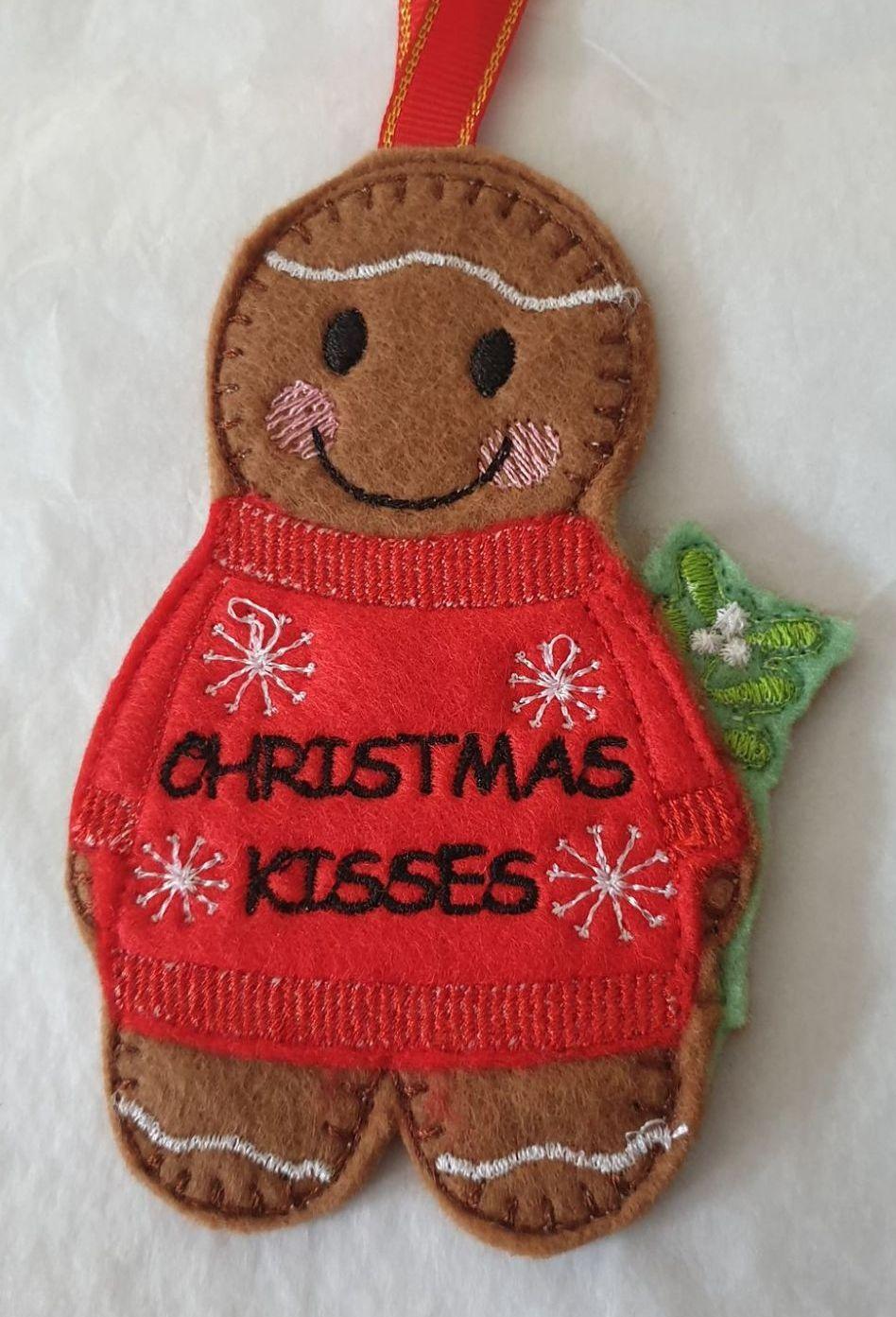 Christmas Kisses Gingerbread