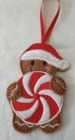 Christmas Pinwheel  Gingerbread