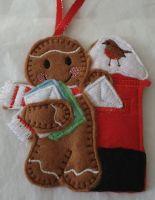 Christmas Post Gingerbread